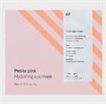 H&M Petite Pink Hydrogel Szemmaszk