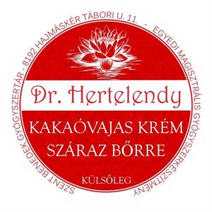 Dr. Hertelendy Kakaóvajas Narancsos Krém