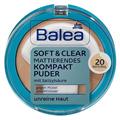 Balea Soft&Clear Mattító Kompakt Púder