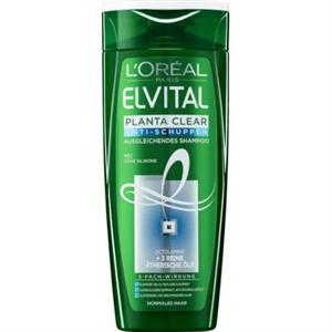 L'Oreal Paris Elvital Planta-Clear2 Korpa Elleni Sampon Normál FEJBŐRRE