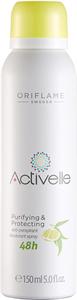 Oriflame Activelle Purifying & Protecting 48 Órás Izzadásgátló Dezodoráló Spray