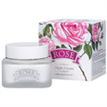 Bulgarian Rose Rose Éjszakai Arckrém