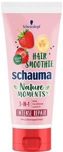 Schauma Nature Moments Hair Smoothie 3In1 Hajápoló Eperrel, Banánnal és Chia Maggal