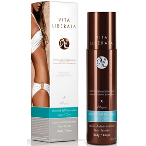 Vita Liberata Warm Untinted Self Tan Lotion