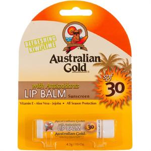 Australian Gold Lip Balm SPF30 Kiwi-Lime