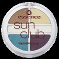 Essence Sun Club Quattro Eyeshadow - Szemhéjpúder
