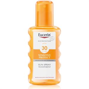 Eucerin Sun Sensitive Protect Színtelen Napozó Spray FF30