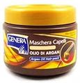 Genera Maschera Capelli Rigenerante Regeneráló Hajpakolás Argánolajjal