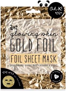 Oh K! Glowing Skin Gold Foil Sheet Mask