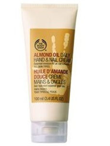 The Body Shop Almond Oil Daily Hand & Nail Cream