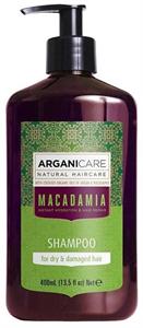 Arganicare Macadamia Sampon Száraz, Töredezett Hajra