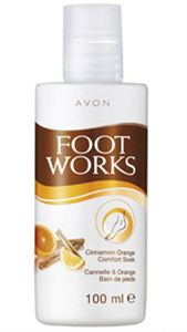 Avon Fahéj és Narancs Lábfürdető