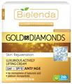 Bielenda Celebrity Arany és Gyémánt Exkluzív Lifting Hatású Nappali Arckrém SPF10 50+