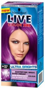 Schwarzkopf Palette Live Color XXL Ultra Brights Hajfesték