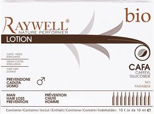 Raywell Bio Cafa Hajnövesztő és Hajhullás Elleni Ampulla Csomag, Férfiaknak