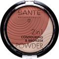 Sante 2In1 Kontúr & Bronzosító Púder