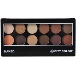 City Color Cosmetics Naked Szemhéjpúder Paletta
