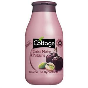Cottage Cerise Noir & Pistache Douche Lait Hydratante