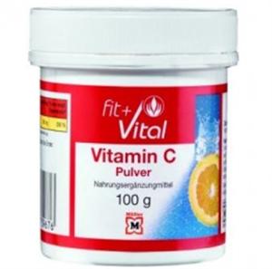 Fit + Vital Vitamin C Pulver