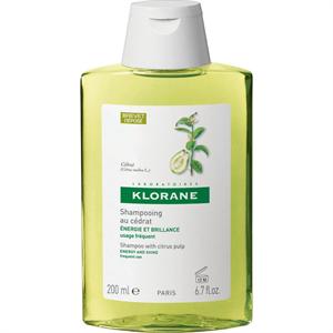 Klorane Citrus Tisztító Sampon