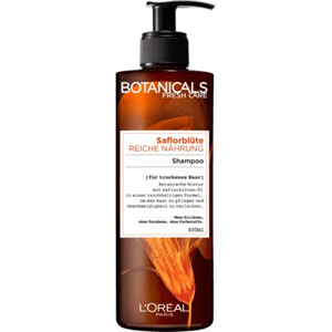 L'Oréal Botanicals Fresh Care Safflower Rich Infusion Sampon Száraz Hajra
