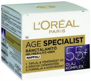 L'Oreal Paris Age Specialist Nappali Krém 55+