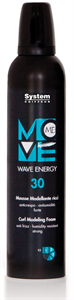 Dikson Move Me 30 Wave Energy Modellező Hab Göndör Hajra
