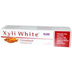 Now Foods Xyliwhite Cinnafresh Fogkrém