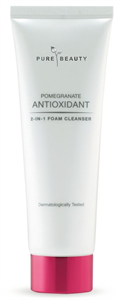 Pure Beauty Pomegranate Antioxidant 2-in-1 Foam Cleanser