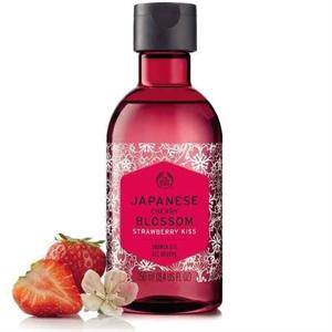 The Body Shop Japán Cseresznyevirág és Eper Tusfürdő