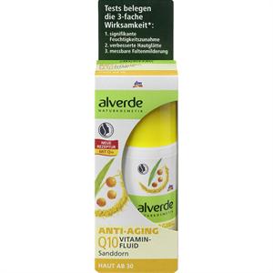 Alverde Anti-Aging Q10 Vitaminfluid