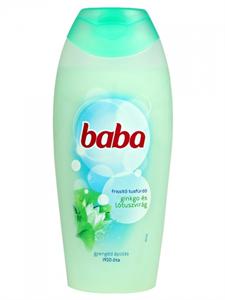 Baba Frissítő Tusfürdő Ginkgo és Lótuszvirág