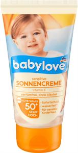 Babylove Sensitive Sonnencreme Ohne Alkohol