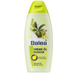 Balea Creme Öl Tusfürdő Olivaolajjal és Tejproteinnel
