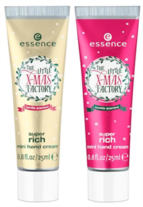 Essence The Little X-Mas Factory Super Rich Mini Hand Cream