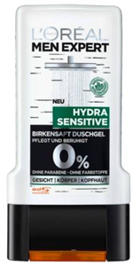 L'Oreal Paris Men Expert Hydra Sensitive Tusfürdő
