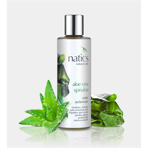 Natics Aloe Vera-Spirulina Natúr Arclemosó