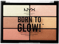 NYX Born To Glow Highlighting Palette