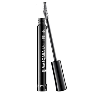 PHYT'S Mascara Multi-Effets Noir - Dúsító és hosszabbító bio szempillaspirál fekete