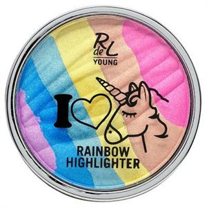 Rdel Young I Love Unicorns Rainbow Highlighter