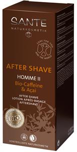 Sante Homme II After Shave Koffeinnel és Akai Bogyóval