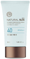 Thefaceshop Eco Natural Sun No Shine Hydrating Sun Cream SPF40 / PA+++