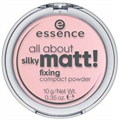 Essence All About Silky Matt Fixing Compact Púder