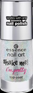 Essence Nail Art Shake Me! I'm Pretty Fedőlakk