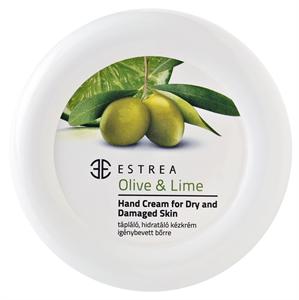 Estrea Olive & Lime Tápláló, Hidratáló Kézkrém Igénybevett Bőrre