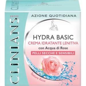 Clinians Hidratáló, Bőrnyugtató Krém - Rózsavízzel, Száraz és Érzékeny Bőrre, Gazdag Textúra