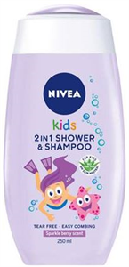 Nivea Kids Sparkle Berry Tusfürdő és Sampon