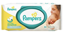 Pampers Törlőkendő Sensitive Newborn