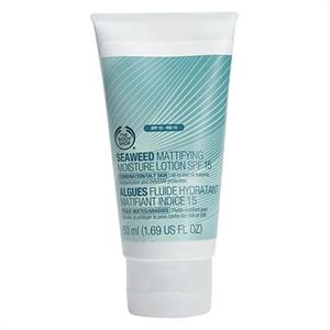 The Body Shop Seaweed Mattító Hidratáló Lotion SPF15