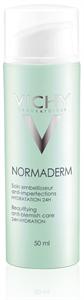 Vichy Normaderm Szépítő Hatású Hidratáló Arcápoló Zsíros, Pattanásokra Hajlamos Bőrre